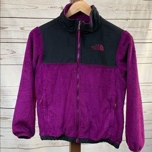 The North Face Purple and Black Fleece Sweater